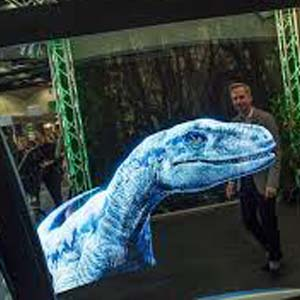 virtual reality dinosaur
