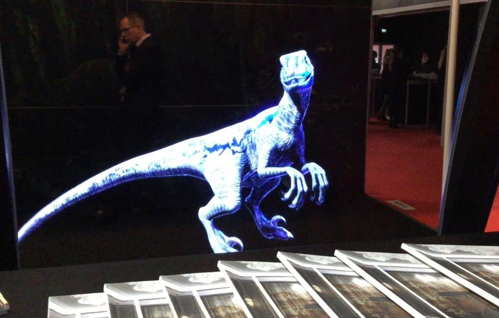 A Virtual Reality Velociraptor, XR Reality, ISE 2018