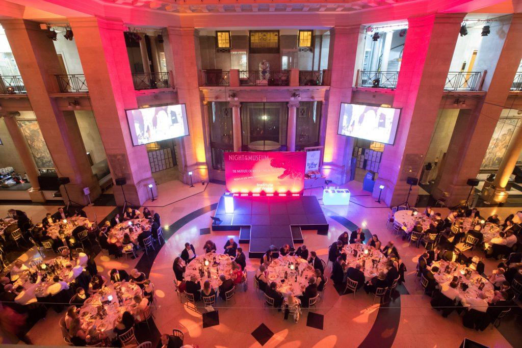 AV for Awards in National Museum Cardiff