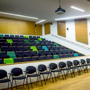 Picture of St Fagans Lecture Theatre AV equipment