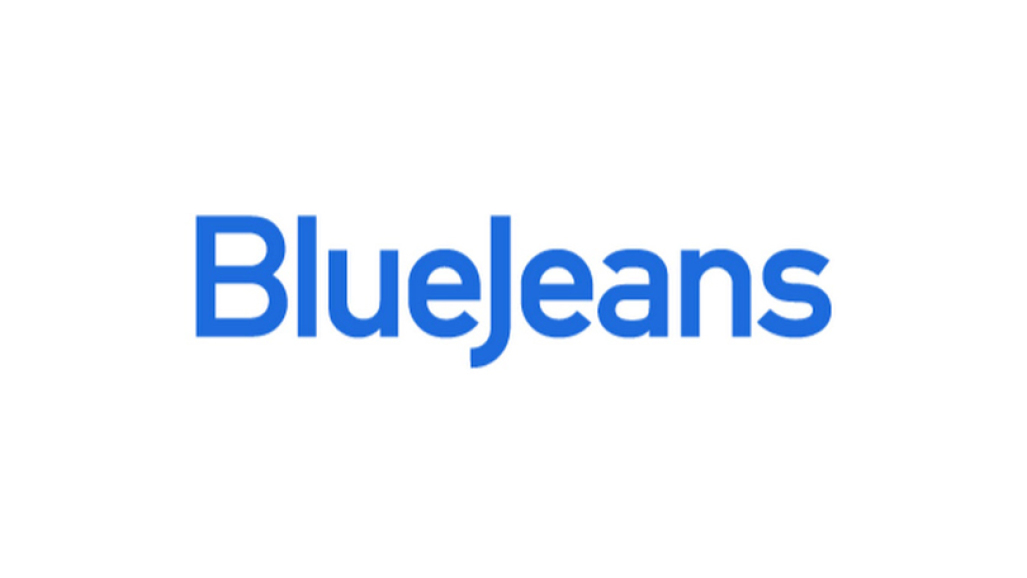 blue jeans video conference logo