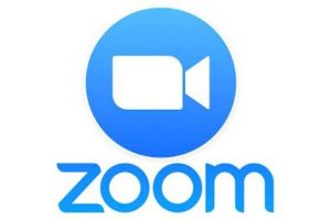 video conference logo for zoom