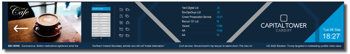 Proposed screen design